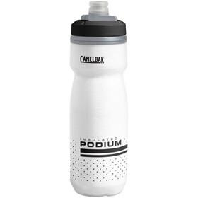 CamelBak Podium Chill Flasche 620ml weiß/schwarz